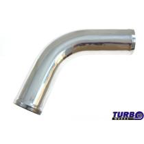 Aluminium cső 67 fok 60mm 30cm